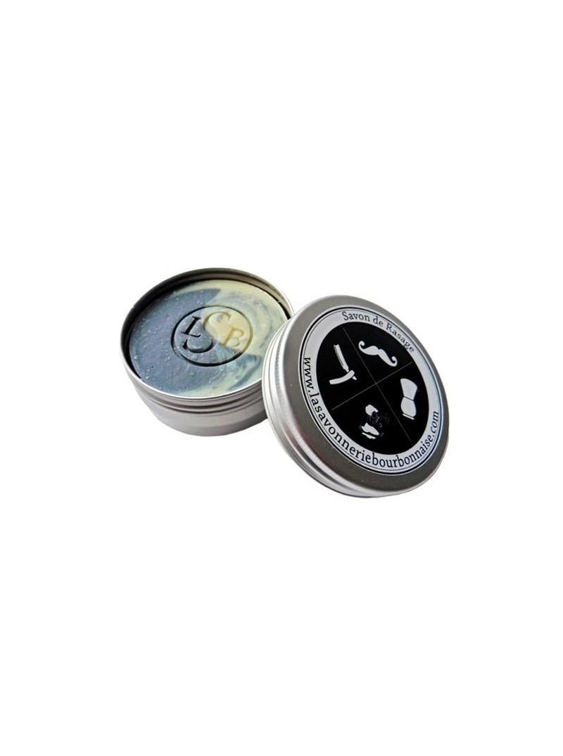 La Savonnerie Bourbonnaise - Savon de Rasage en Pot Le Docker - 65 grammes