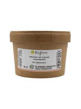 Bioflore - Beurre Végétal de Cacao Bio en Pastilles - 100 grammes