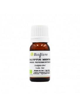 Bioflore - Huile Essentielle d'Eucalyptus Mentholé Bio - 10 ml
