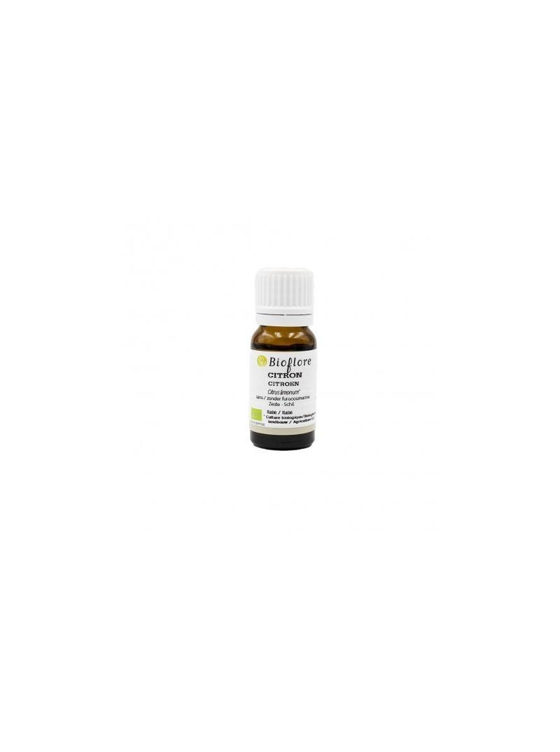 Bioflore - Huile Essentielle de Citron Sans Furocoumarine Bio - 10 ml