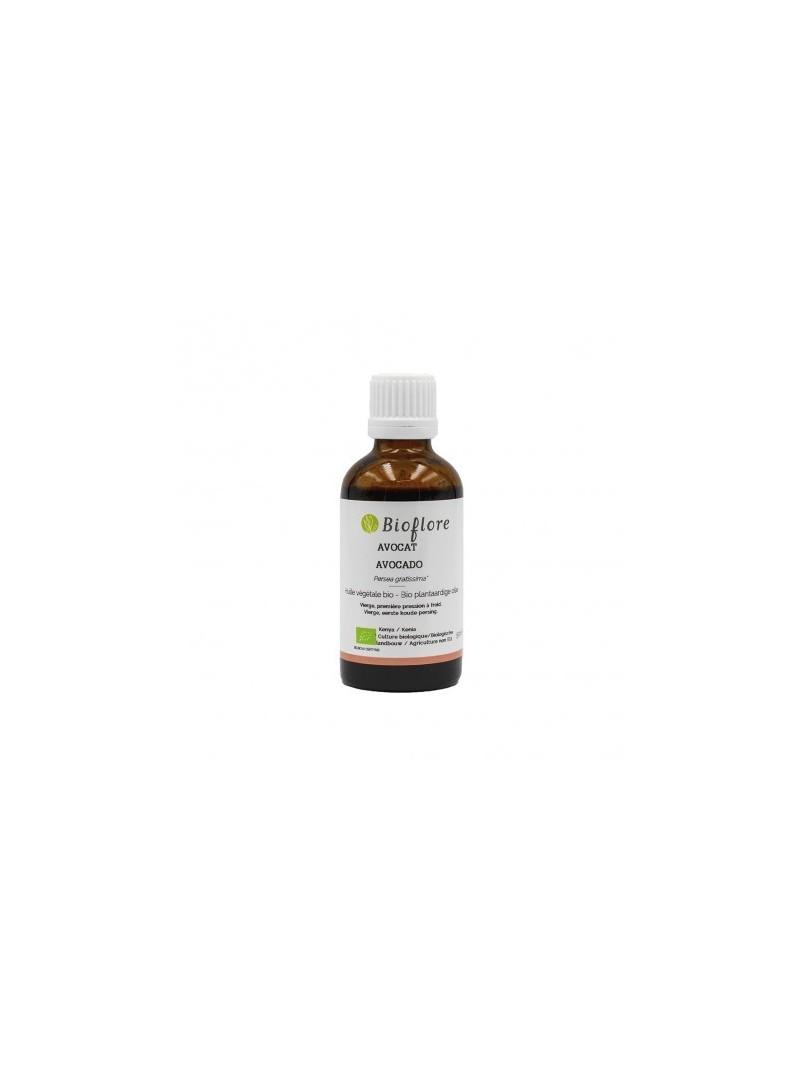 Bioflore - Huile Végétale Avocat Bio - 50 ml