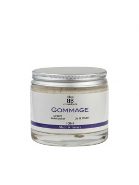 Ibbeo - Gommage Corps Lin & Prune - 100 ml