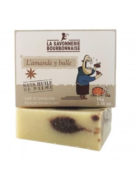 La Savonnerie Bourbonnaise - Savon L'Amande Y Bulle