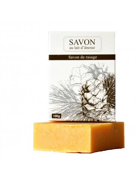 La Savonnerie Bourbonnaise - Savon au Lait d'Ânesse Rasage