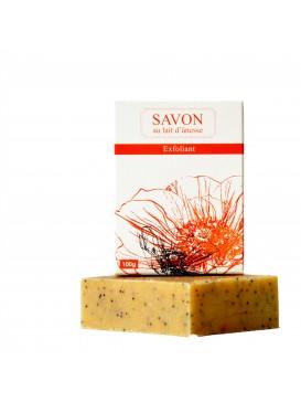 La Savonnerie Bourbonnaise - Savon au Lait d'Ânesse Exfoliant