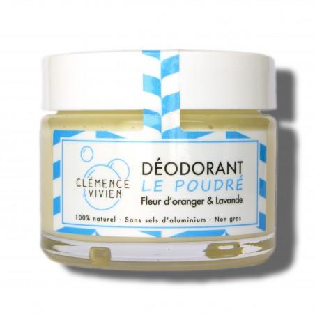 Clémence et Vivien - Déodorant Crème Le Poudré - 50 grammes