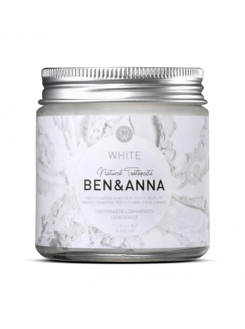 Ben & Anna - Dentifrice Gel White (Blanc) - 100 ml
