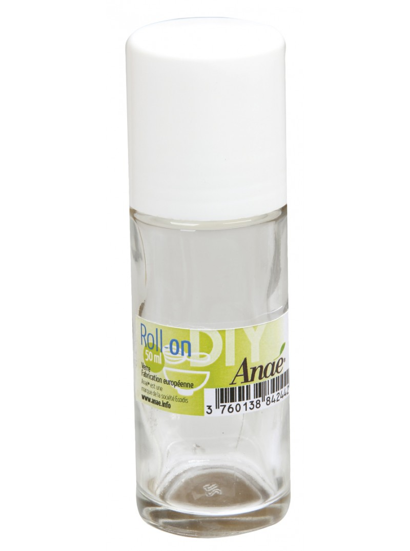 Anaé - Tube porte-bille roll-on en Verre - 50 ml